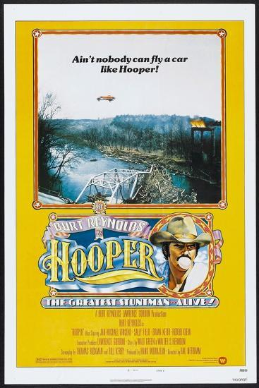 Hooper, US poster, Burt Reynolds, 1978, © Warner Brothers/courtesy Everett Collection--Art Print