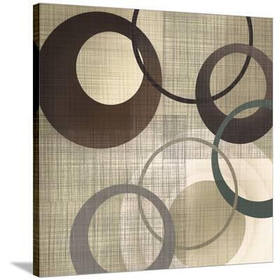 Hoops 'n' Loops II-Tandi Venter-Stretched Canvas Print