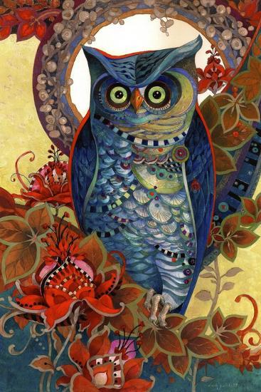 Hoot-David Galchutt-Giclee Print