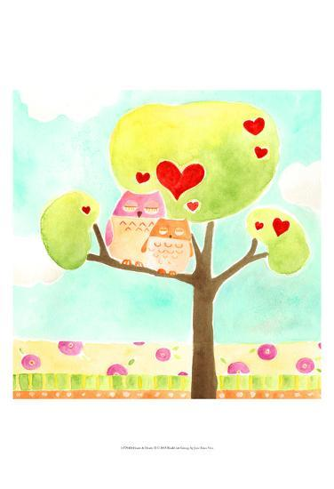 Hoots & Hearts II-June Vess-Art Print