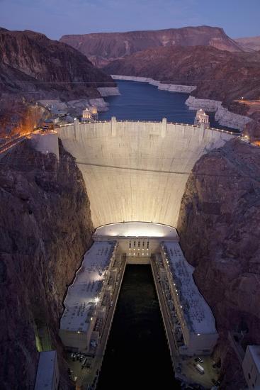 Hoover Dam, near Boulder City and Las Vegas, Nevada-Joseph Sohm-Photographic Print