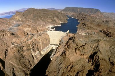 Hoover Hydroelectric Dam, Colorado River, USA-David Parker-Photographic Print