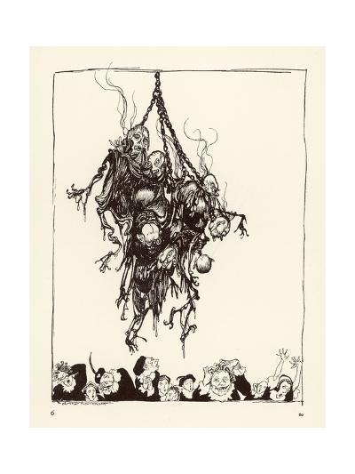 Hop Frog-Arthur Rackham-Giclee Print