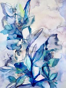 Aqua Floral by Hope Bainbridge