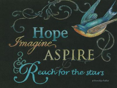 Hope & Bird-Gwendolyn Babbitt-Art Print