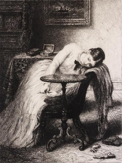 Hope Defered, 19th Century-Charles West Cope-Giclee Print