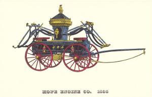 Hope Engine Vintage Fire Wagon