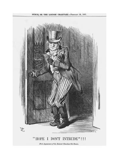 Hope I Don't Intrude!!!, 1887-Joseph Swain-Giclee Print