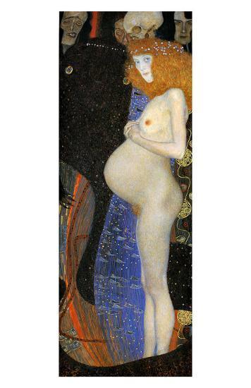 Hope I-Gustav Klimt-Giclee Print