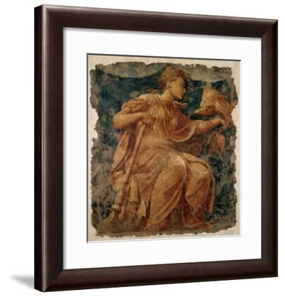 Hope, One of the Three Theological Virtues-Nicolò dell' Abate-Framed Giclee Print