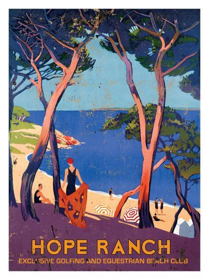 Hope Ranch Exclusive Club--Giclee Print