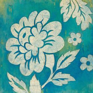Blue Floral by Hope Smith