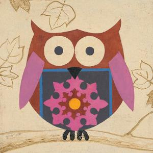 Brown Boho Owl by Hope Smith