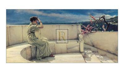 Hope Springs Eternal-Sir Lawrence Alma-Tadema-Art Print