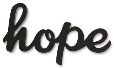 Hope--Wood Sign