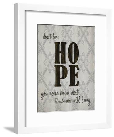 HOPE-Kimberly Allen-Framed Art Print