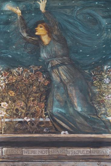 Hope-Edward Burne-Jones-Giclee Print