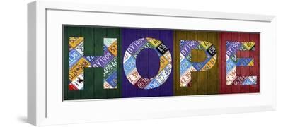 Hope-Design Turnpike-Framed Giclee Print