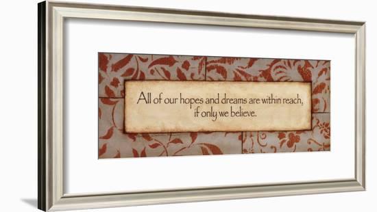 Hopes And Dreams-Stephanie Marrott-Framed Art Print