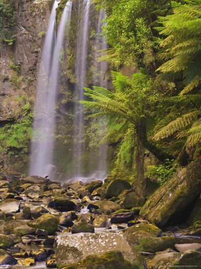Hopetoun Falls, Great Otway National Park, Victoria, Australia, Pacific-Jochen Schlenker-Photographic Print