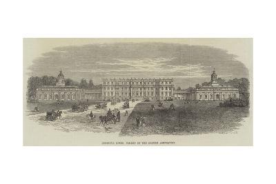 Hopetoun House, Visited by the British Association--Giclee Print