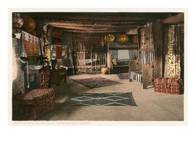 Hopi House Interior, Grand Canyon--Art Print