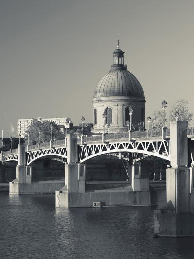 Hopital De La Grave and Pont St-Pierre, Toulouse, Midi-Pyrenees Region, France--Photographic Print
