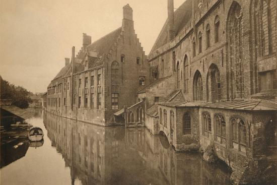 'Hôpital Saint-Jean', c1928-Unknown-Photographic Print