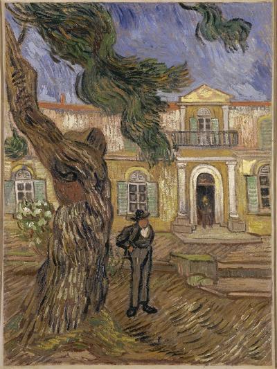 Hôpital Saint-Paul à Saint-Rémy-de-Provence-Vincent van Gogh-Giclee Print