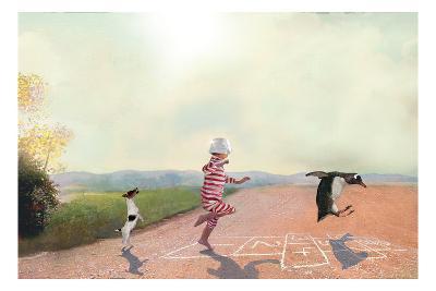 Hopscotch-Nancy Tillman-Art Print
