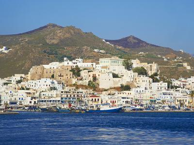 Hora (Chora) Main Town and Kastro, Naxos, Cyclades, Aegean, Greek Islands, Greece, Europe-Tuul-Photographic Print