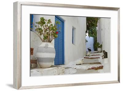 Hora, Serifos Island, Cyclades, Greek Islands, Greece, Europe-Tuul-Framed Photographic Print