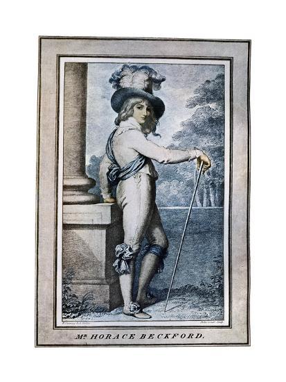 Horace Beckford, 18th Century-John Conde-Giclee Print
