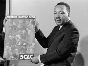 MLK Poor Peoples Campaign Poster 1968 by Horace Cort