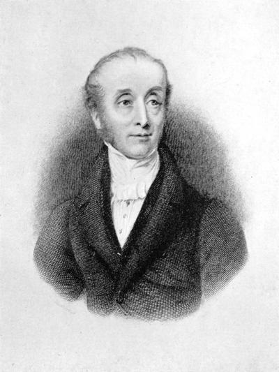 Horace Smith, English Poet and Novelist-E Finden-Giclee Print