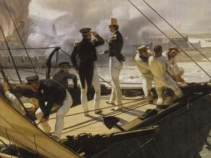 Episode de l'expédition du Mexique en 1838, by Horace Vernet