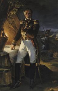 Laurent, marquis de Gouvion Saint Cyr, maréchal de France (1764-1830), repr by Horace Vernet
