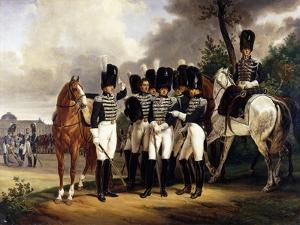 Portrait of the General Marquis De Talhout-Roy, 1818-19 by Horace Vernet