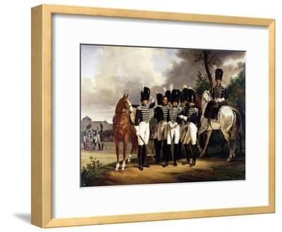 Portrait of the General Marquis De Talhout-Roy, 1818-19
