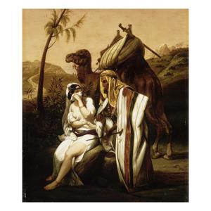 Thamar et Juda by Horace Vernet