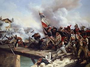 The Battle of Arcole Gate, 1826 by Horace Vernet