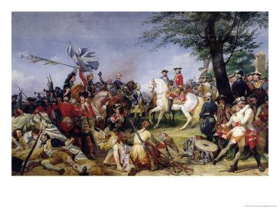 The Battle of Fontenoy, 11th May 1745, 1828