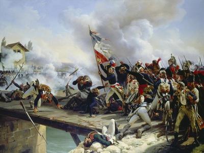 The Battle of Pont D'Arcole, 1826