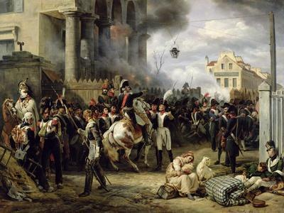 The Gate at Clichy During the Defence of Paris, 30th March 1814, 1820