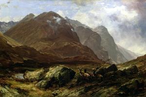 Glencoe, 1864 by Horatio Mcculloch