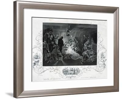 Horatio Nelson's Death--Framed Giclee Print