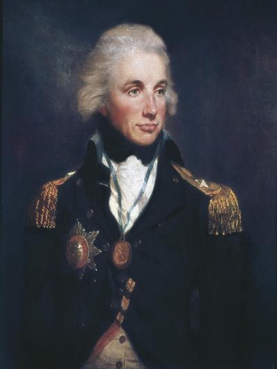 Horatio Nelson-Lemuel Francis Abbott-Art Print