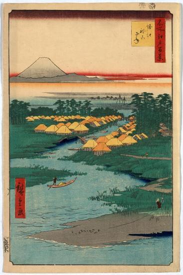 Horie Nekozane-Utagawa Hiroshige-Giclee Print