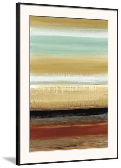 Horizon Lines I-Cat Tesla-Framed Giclee Print