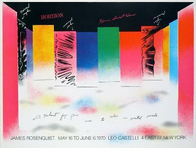 Horizon-James Rosenquist-Collectable Print